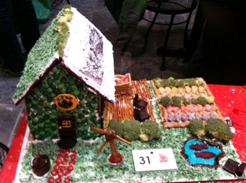 Sustainable Gingerbread House