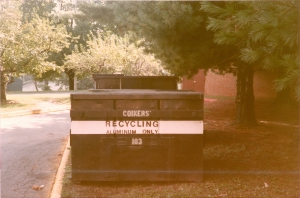 Recycling at UVA, Phase 1 (1989)