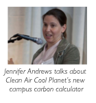 Jennifer Andrews Clean Air Cool Planet